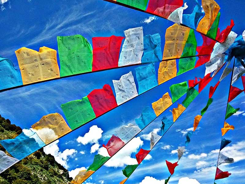 SIGNIFICANCE OF PRAYER FLAGS IN BHUTAN