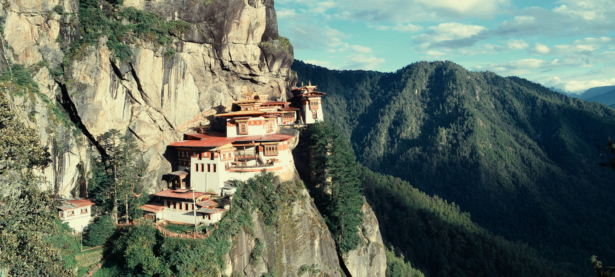 Paro Taktsang: The Tigers Nest Monestery in Paro Bhutan