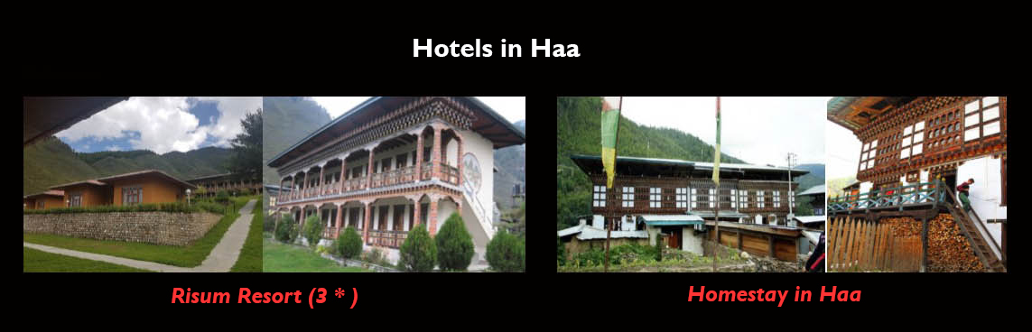 Hotels at Haa valley