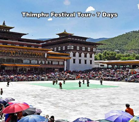 Thimphu Festival Tour – 7 Days