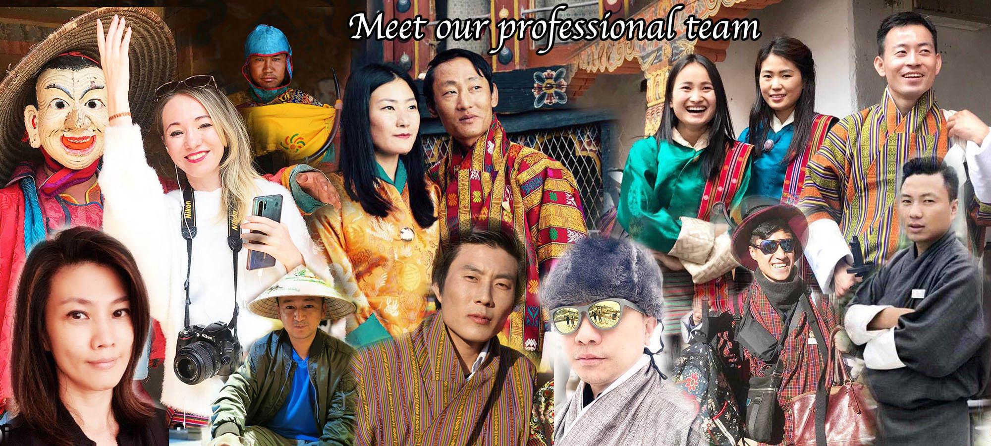 Some of Yelha Bhutan team