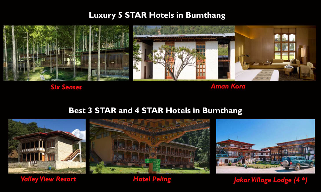 hotels in bumthang
