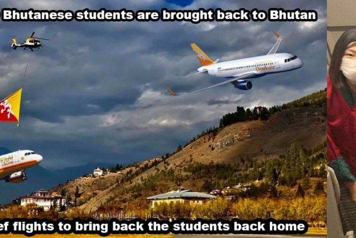 One of the Last Tourist to leave Bhutan